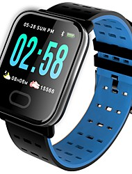 cheap -Couple's Sport Watch Quartz Casual Water Resistant / Waterproof Digital Black Blue Orange / Silicone