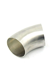 cheap -2.5 Inch 63mm Stainless Steel 45 Degree Exhaust Bend Elbow Pipe