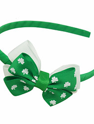 cheap -Carnival Headpiece Kid's Adults' Women's Halloween Carnival St Patricks Day Festival / Holiday Plastics Fabric Green / Blue+Green / Dark Green Female Carnival Costumes Shamrock Novelty 3 Leaf
