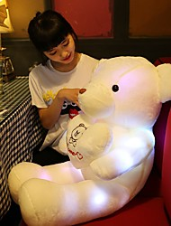 cheap -1 pcs Stuffed Animal Plush Toys Plush Dolls Stuffed Animal Plush Toy Bear Teddy Bear Glow Cute LED Light Cotton / Polyester Imaginative Play, Stocking, Great Birthday Gifts Party Favor Supplies All