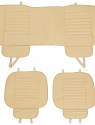 Недорогие -Подушечки на автокресло Подушки для сидений Черный / Бежевый Кожа PU Общий Назначение Универсальный Все года Дженерал Моторс