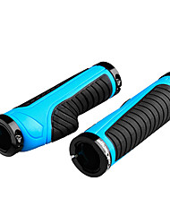 cheap -CoolChange Bike Handlerbar Grips Wearproof Non-Skid Stability Easy to Install Anti-Shock For Road Bike Mountain Bike MTB Cycling Bicycle Rubber Black / Red Black Black / Blue