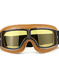 cheap -Motorcycle Flying Scooter ATV Goggles Helmet Glasses Goggles Yellow Frame