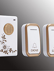 cheap -Wireless Two to One Doorbell Music / Ding dong Non-visual doorbell