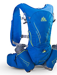 cheap -AONIJIE 20 L Hiking Backpack Hydration Backpack Pack Lightweight Fast Dry Wear Resistance Outdoor Hiking Racing Cycling / Bike Nylon Black Blue
