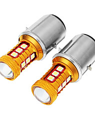 cheap -Pair 12V BA20D H6 COB Motorcycle Headlight LED Bulbs W/ High Low Beam