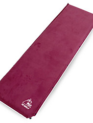 cheap -Hewolf Self-Inflating Sleeping Pad Air Pad Outdoor Portable Rain Waterproof Moistureproof Thick Faux Suede 200*63*6.5 cm Camping / Hiking Camping Camping / Hiking / Caving All Seasons Coffee Burgundy