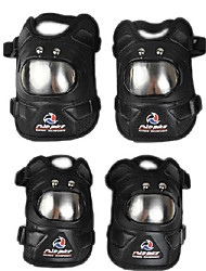cheap -Motorcycle Protective Gear  for Elbow Pads / Knee Pad Unisex Leather / Alloy Steel Adjustable Length / Impact Resistant / Comfy