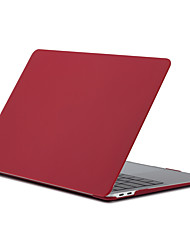 cheap -MacBook Case Solid Colored Plastic for MacBook Pro 13-inch with Retina display / MacBook Air 13-inch / New MacBook Pro 13-inch