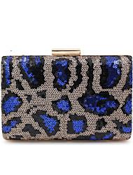 cheap -Women's Sequin / Glitter Alloy Evening Bag Black / Blue / Fall & Winter