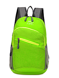 cheap -20 L Hiking Backpack Lightweight Packable Backpack Waterproof Lightweight Fast Dry Ultra Light (UL) Outdoor Hiking Climbing Camping Nylon Green Blue Violet / Compact / Wear Resistance