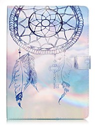 cheap -Case For Apple iPad Mini 5 / iPad New Air(2019) / iPad Mini 3/2/1 Wallet / Card Holder / with Stand Full Body Cases Dream Catcher Hard PU Leather