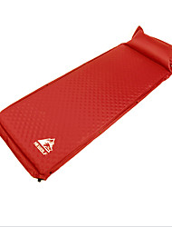 cheap -Hewolf Self-Inflating Sleeping Pad Air Pad Outdoor Portable Lightweight Moistureproof Thick Pongee 188*65*5 cm Camping / Hiking Climbing All Seasons Red