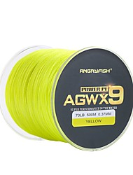 cheap -PE Braided Line / Dyneema / Superline Fishing Line 500M / 550 Yards PE 80LB 70LB 60LB 0.1~0.4 mm Jigging Sea Fishing Bait Casting / Ice Fishing / Spinning / Jigging Fishing / Freshwater Fishing