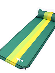 cheap -Sleeping Pad Inflatable Sleeping Pad Camping Pad Outdoor Waterproof Rectangular Thick Folding Composite materials Outdoor Exercise Beach Camping Spring, Fall, Winter, Summer Army Green Sky Blue Blue