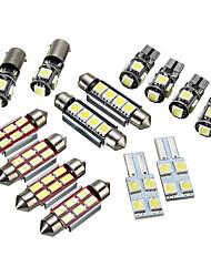 cheap -14pcs T5 Car Light Bulbs LED Interior Lights / Decoration Lights For Volkswagen Transporter 2003 / 2004 / 2005