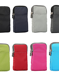 cheap -Case For BlackBerry / Apple / Samsung Galaxy Universal Sports Armband / Card Holder Pouch Bag Solid Colored Soft Nylon