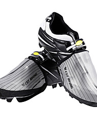 cheap -WEST BIKING® Adults' Waterproof Shoe Cover Outdoor Exercise Cycling / Bike Dark Gray Gray Unisex Cycling Shoes