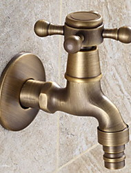 cheap -Bathroom Sink Faucet - Widespread Nickel Brushed Other Single Handle One HoleBath Taps
