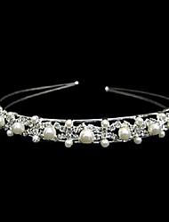 cheap -Alloy Headbands with Imitation Pearl / Crystal / Rhinestone 1 Piece Wedding Headpiece