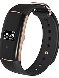 cheap -KYLINSPORT H5 Smart Bracelet Smartwatch iOS / Android Heart Rate Monitor / Blood Pressure Measurement / Pedometers G-Sensor / Three-axis gyro / Light Sensor Black / Gold / Black