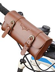 cheap -B-SOUL 1 L Bike Handlebar Bag Portable Wearable Durable Bike Bag PU Leather Bicycle Bag Cycle Bag Cycling Outdoor Exercise Bike / Bicycle