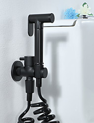 cheap -Bidet Faucet BlackToilet Handheld Bidet Sprayer Modern Self Cleaning Bidet