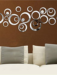 cheap -Decorative Wall Stickers - 3D Wall Stickers / Mirror Wall Stickers Shapes Living Room / Bedroom / Kitchen