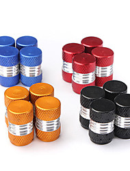 cheap -4PCS Aluminum Alloy Car Wheel Tire Valve Stem Caps Dust Covers