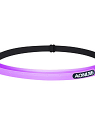 cheap -AONIJIE Hiking Cap Headsweat 1 Multifunctional Anti-Slip Breathability High Elasticity Solid Colored Letter & Number Silicone Spring, Fall, Winter, Summer for Men's Women's Hiking Cycling / Bike