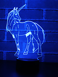 cheap -Fake Camera 3D Nightlight For Children Color-Changing Creative USB 1pc