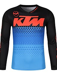 cheap -KTM Moto GP Team Men's Racing Wear Riding Off-Road Jersey T-shirt