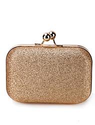 cheap -Women's Glitter Alloy Evening Bag Gold / Black / Silver / Fall & Winter