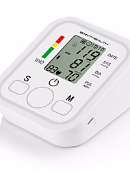 cheap -SaintHealth Automatic Digital Upper Arm Blood Pressure Monitor Heart Beat Rate Pulse Meter Tonometer Sphygmomanometer pulsometer