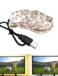 cheap -2m Flexible LED Light Strips 120 LEDs SMD2835 Warm White  Cold White USB  Party  Decorative USB Powered 1pc