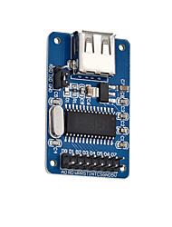Недорогие -md0401 usb интерфейс usb модуль чтения и записи без логотипа синий