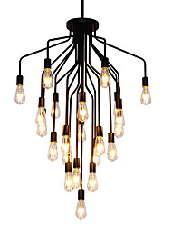 cheap -22 Bulbs Austen Ding 80 cm Chandelier Metal Industrial Painted Finishes LED / Retro 110-120V / 220-240V