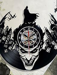 abordables -batman clown cd record horloge murale