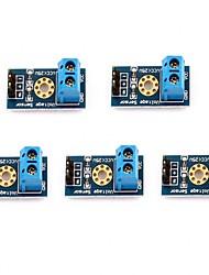 Недорогие -5шт макс 25 В детектор напряжения диапазон 3 клеммный модуль датчика для Arduino