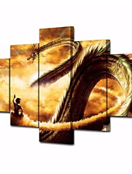cheap -Print Rolled Canvas Prints Stretched Canvas Prints - Fantasy Cartoon Modern Comtemporary