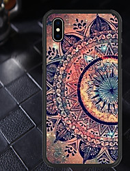 cheap -Case For Apple iPhone XR / iPhone X Pattern Back Cover Mandala Soft TPU
