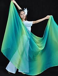 cheap -Belly Dance Veil Women's Training / Performance Tulle Dyed Modern Veil