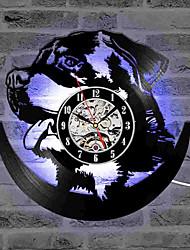 Недорогие -полые ротвейлер 3d настенные часы