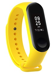 cheap -1 PCS Watch Band for Xiaomi Sport Band Silicone Rubber Wrist Strap for Mi Band 3