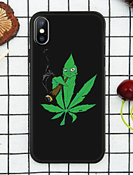 cheap -Case For Apple iPhone XS / iPhone XR / iPhone XS Max Pattern Back Cover Plants Soft TPU