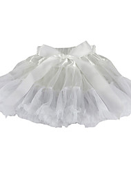 cheap -Petticoat Hoop Skirt Tutu Under Skirt 1950s Satin Blue Pink Fuchsia Petticoat / Kid's / Crinoline
