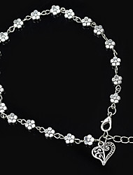 cheap -Women's Chain Bracelet Tropical Cheap Wa Lolita Elegant Korean Cute Alloy Bracelet Jewelry Silver For Party Going out Birthday Office & Career