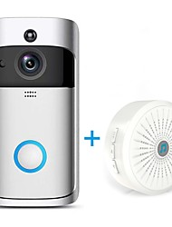 cheap -HQCAM® Wireless Wifi Doorbell Camera 1.0 MP Smart WI-FI Video Intercom Built in out Speaker For Apartments IR Alarm