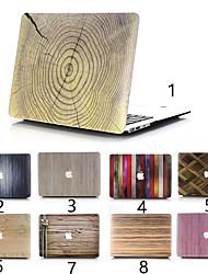 "cheap -MacBook Case Wood Grain PVC(PolyVinyl Chloride) for New MacBook Pro 15-inch / New MacBook Pro 13-inch / New MacBook Air 13"" 2018"