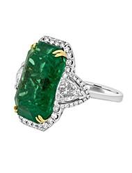 cheap -Ring Emerald Cut Green Alloy 1pc 5 6 7 8 9 / Women's